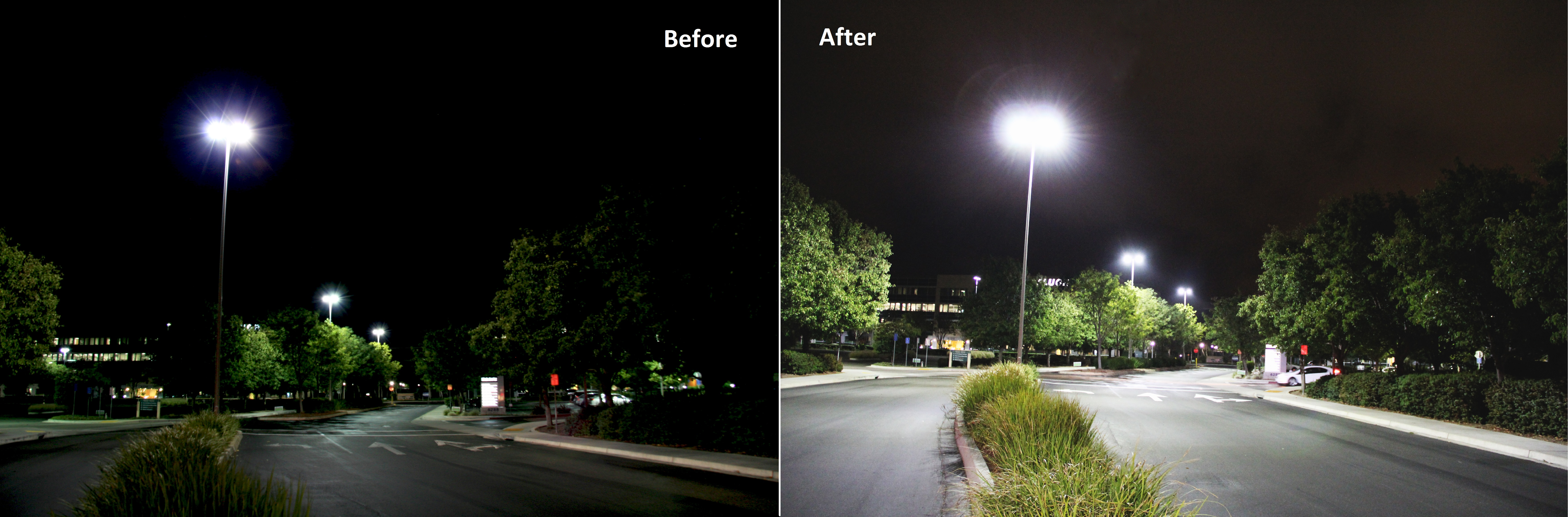 parking relumination safe helps light feel customers lighting lot